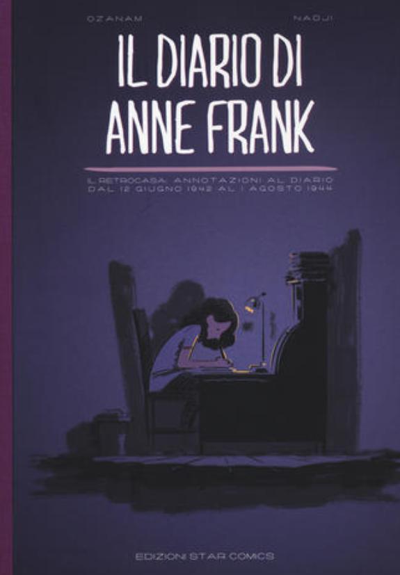 Giorno della Memoria, il diario di Anne Frank diventa un fumetto