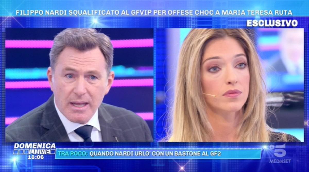 Barbara D'Urso Filippo Nardi