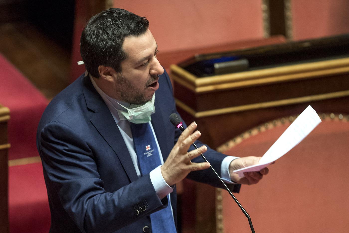Crisi governo Salvini