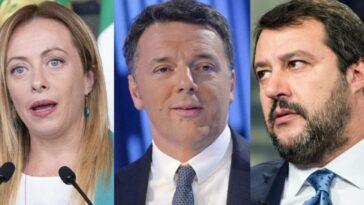ultimi sondaggi politici Salvini Meloni