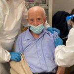 vaccinato a 103 anni