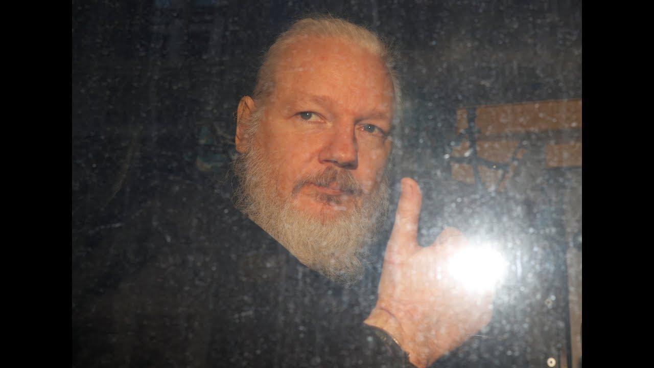 julian assange oggi