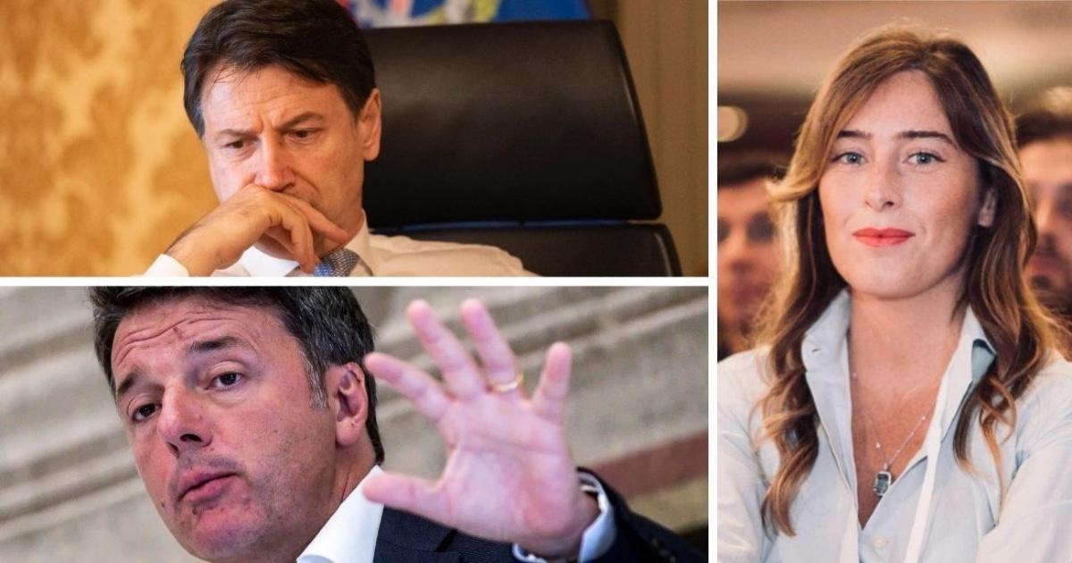 Maria Elena Boschi, Matteo Renzi, Giuseppe Conte