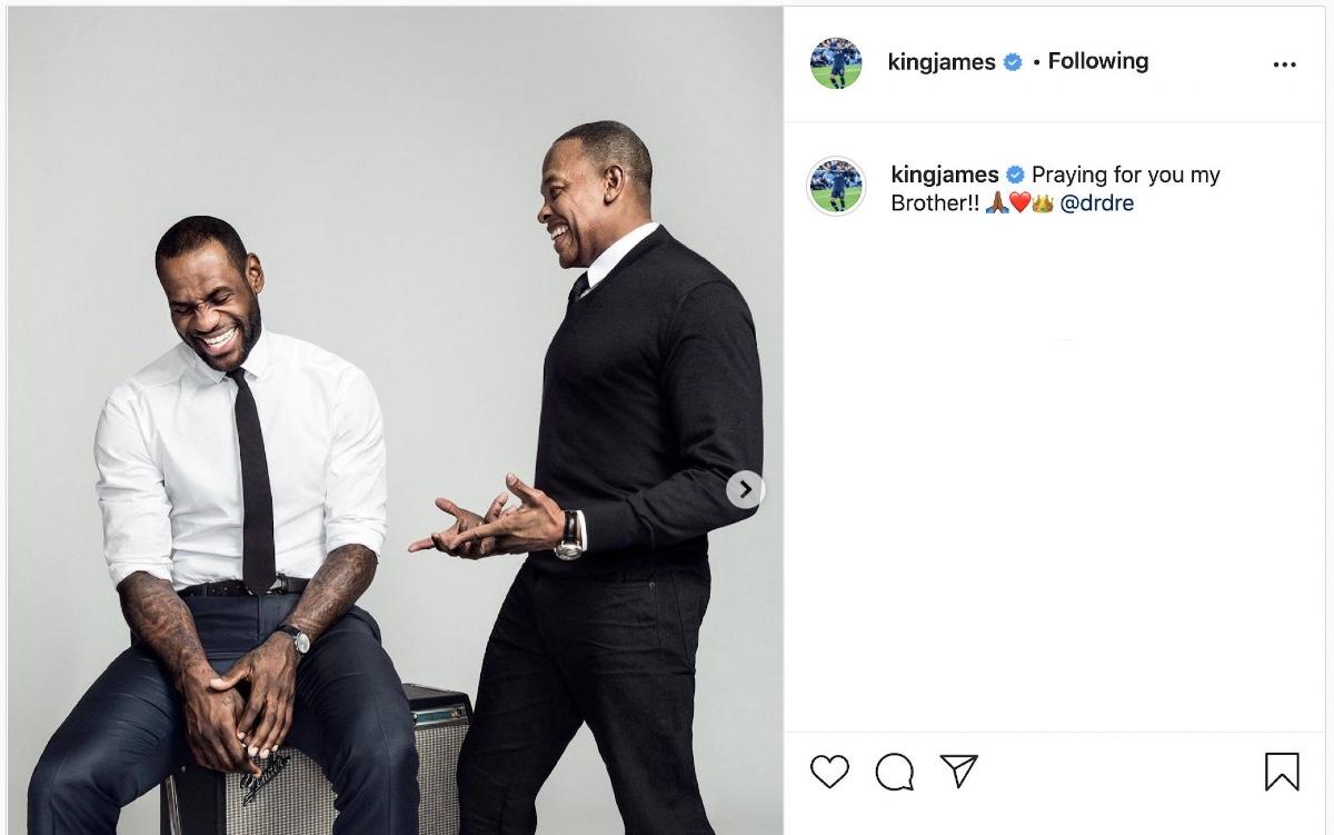 LeBron Dottor Dre