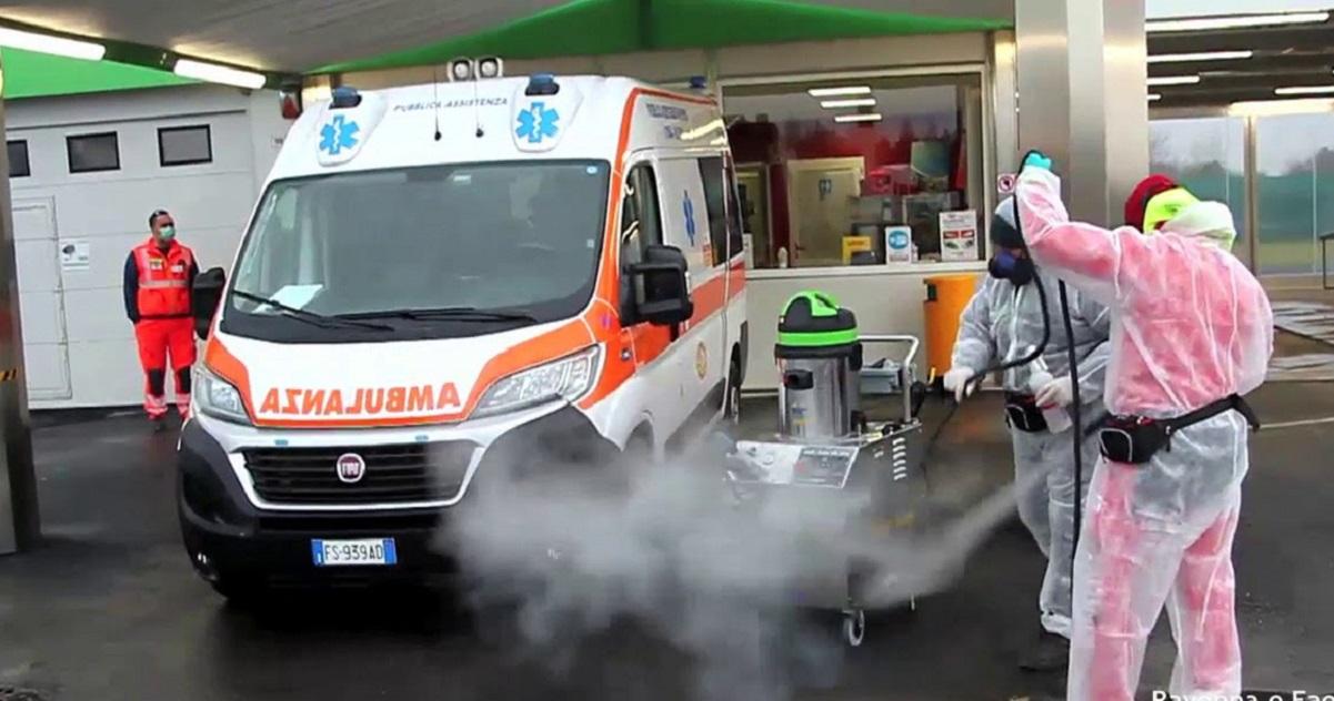 Foggia ambulanza manomessa