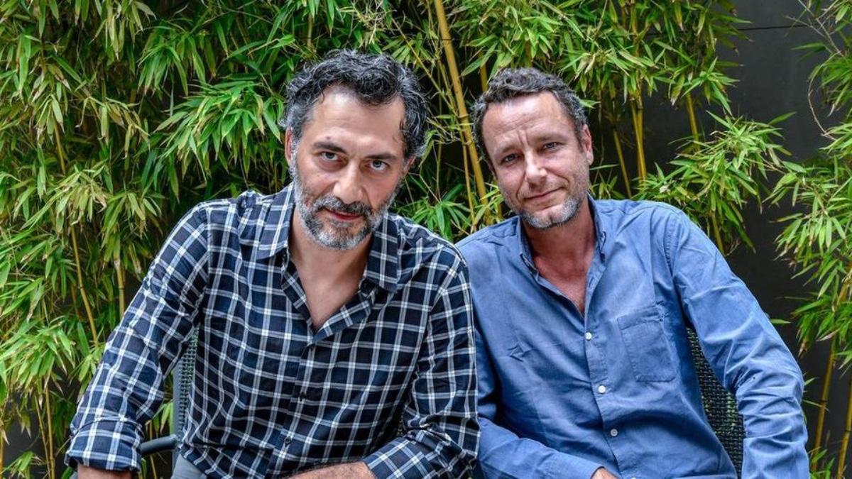 Filippo Timi e il compagno Sebastiano