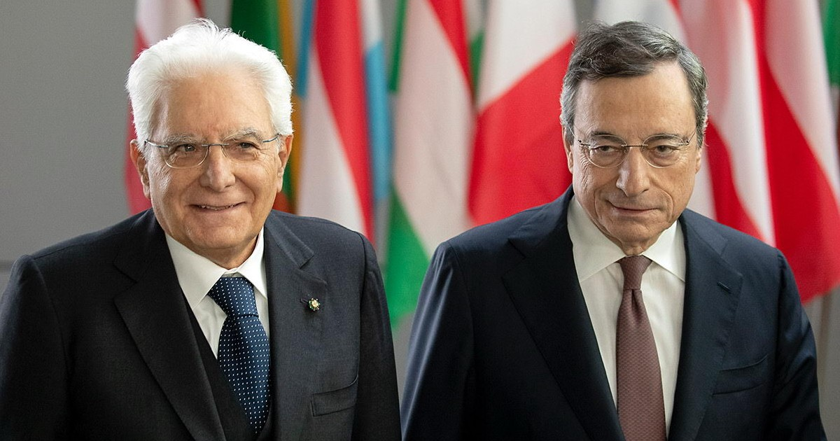 Mattarella chiama Draghi