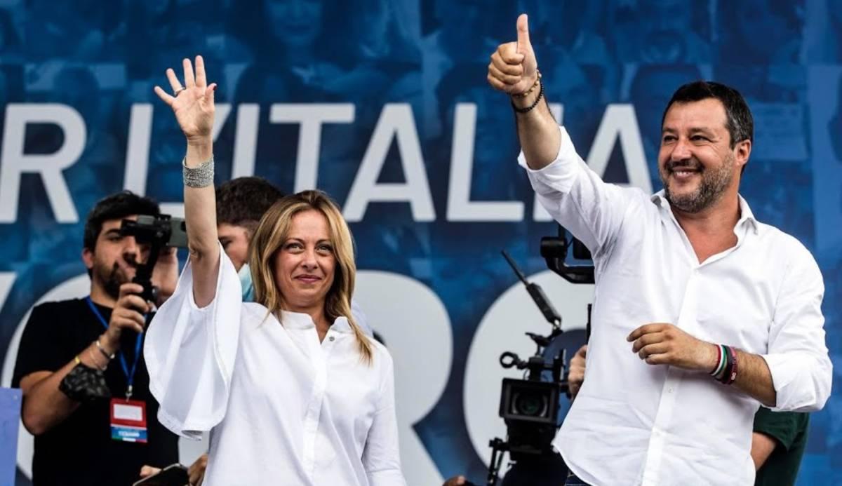 Lega e Fratelli d'Italia crisi alleanza