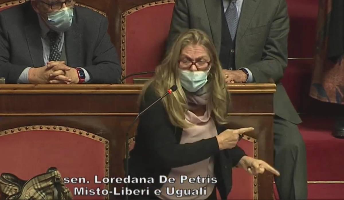 governo draghi fiducia loredana de petris