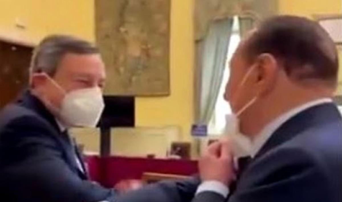 Governo Draghi fiducia tajani berlusconi