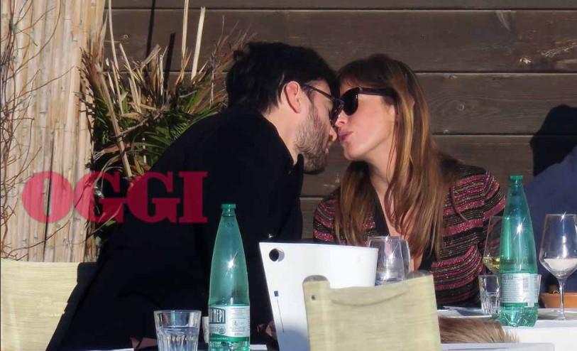 Giulio Berruti e Maria Elena Boschi foto