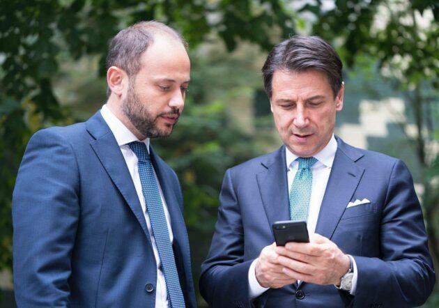 Giuseppe Conte Dario adamo