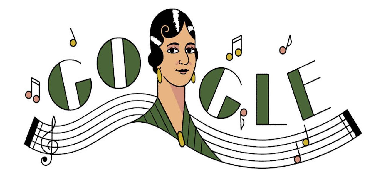 María Grever Doodle Google