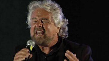 M5s Beppe Grillo rabbia