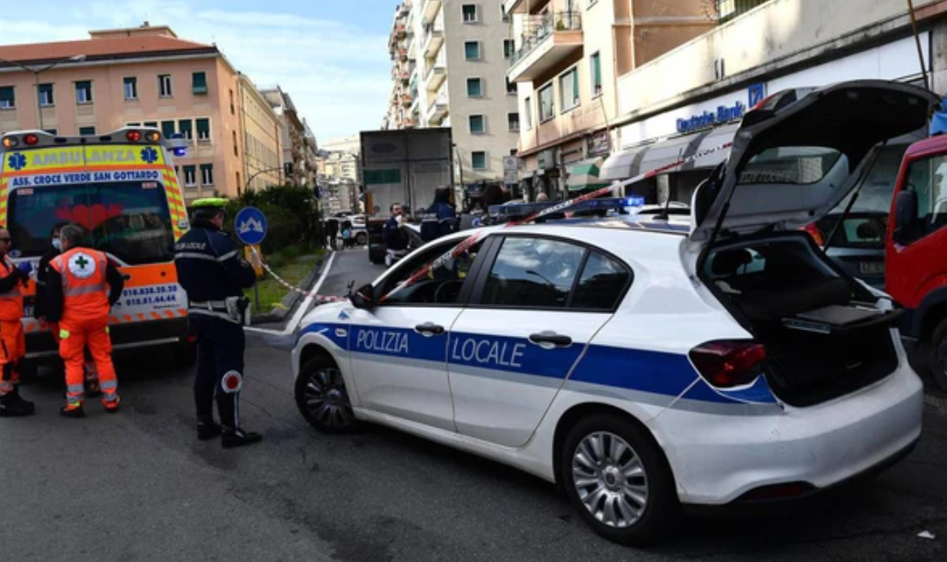 genova incidente monopattino
