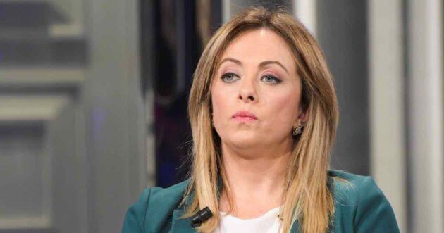 Giorgia Meloni governo draghi