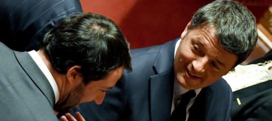Matteo Renzi Salvini