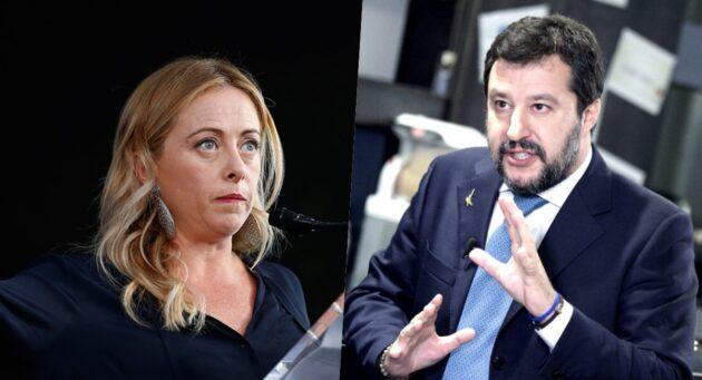 meloni Salvini