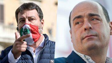 zingaretti Salvini