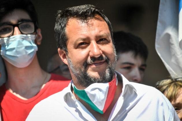 governo draghi Salvini grillo