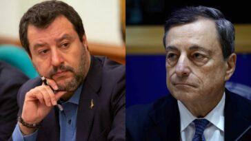 governo draghi Salvini