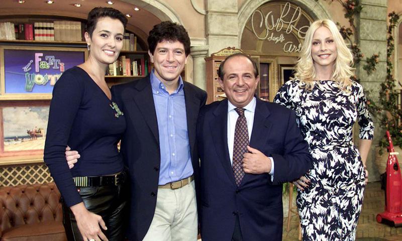 Stefania Orlando Giancarlo Magalli