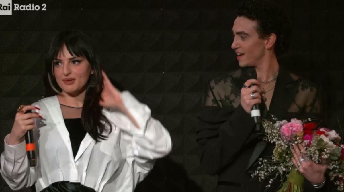 Arisa e Michele Bravi Sanremo 2021