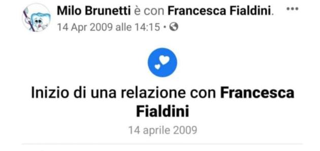 francesca fialdini fidanzato