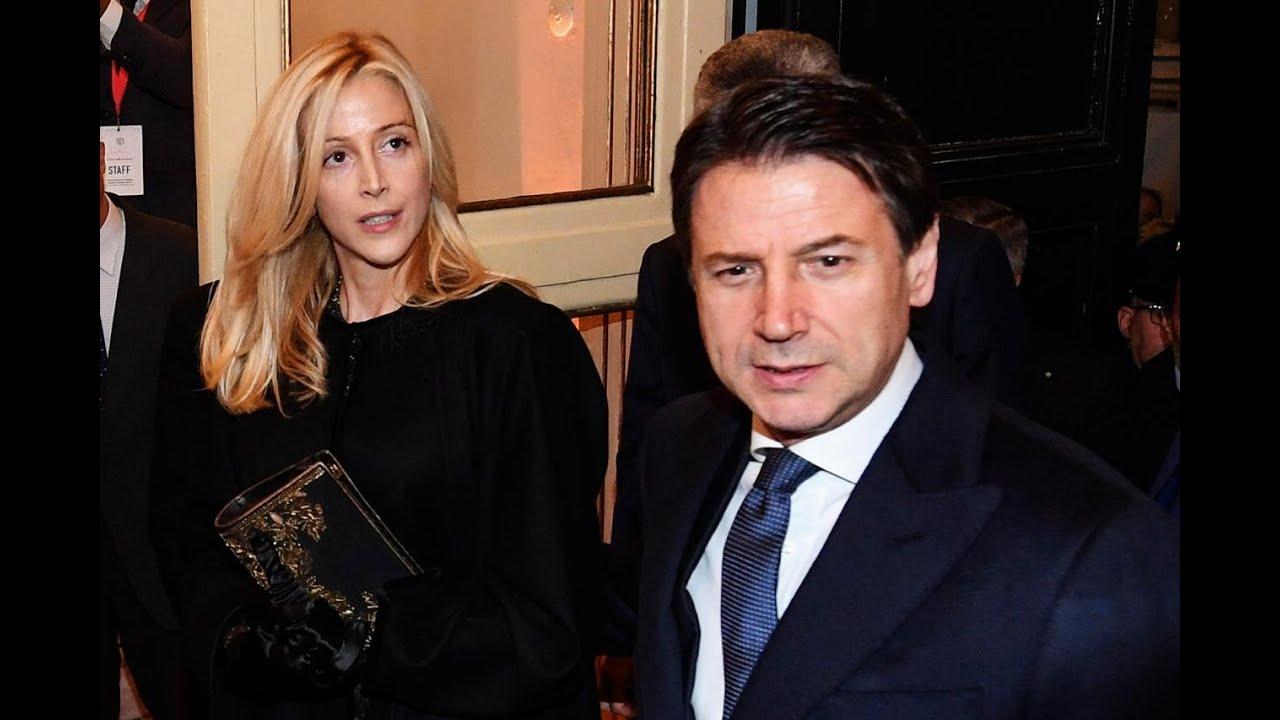 Giuseppe Conte moglie