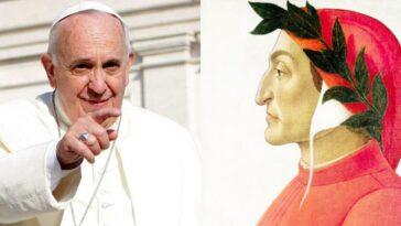 Papa Francesco dante