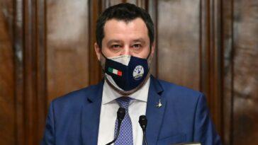 Salvini lascia il governo draghi