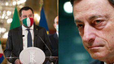 Salvini lascia governo draghi