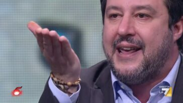 Salvini fedez scontro