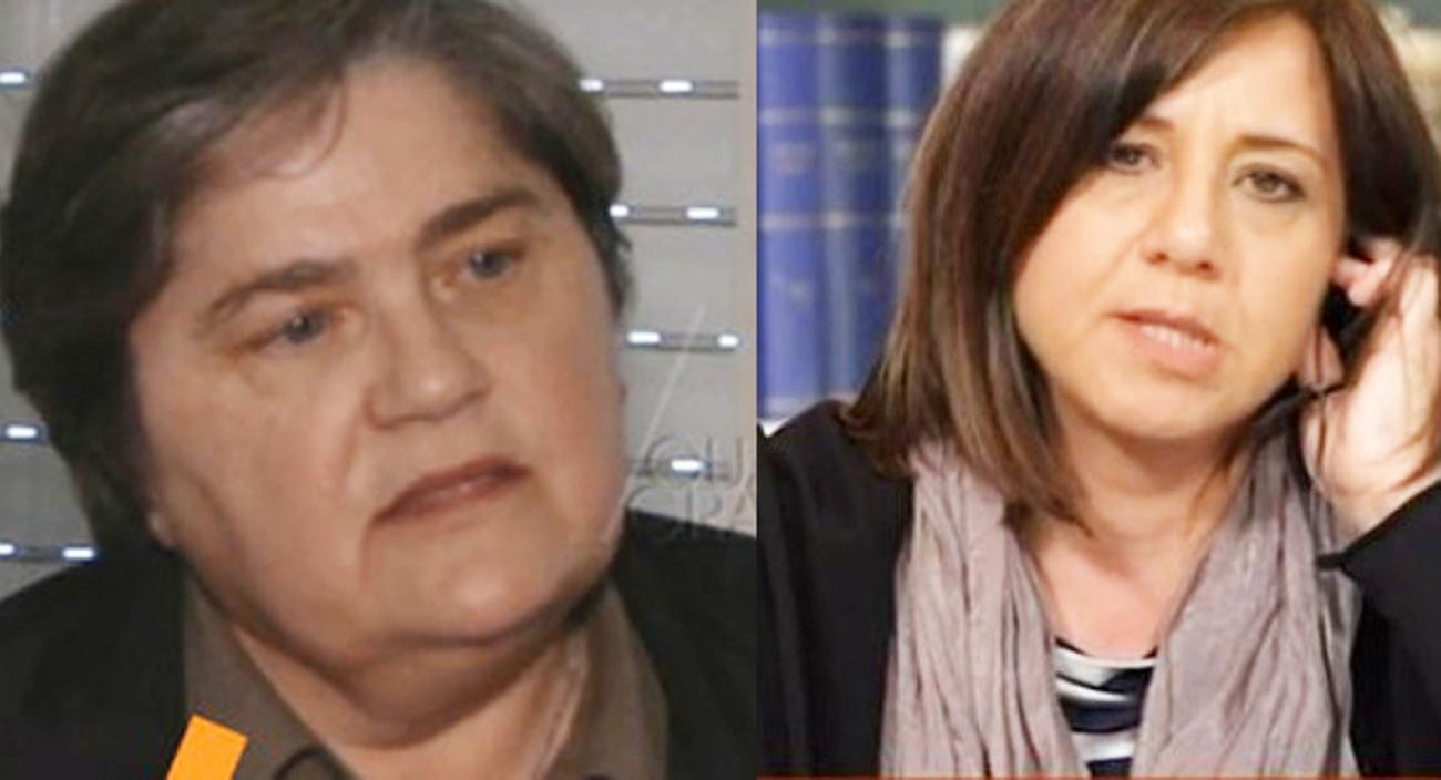 DENISE PIPITONE ANNA CORONA BEPPE DELLA CHIAVE CHIESTA ARCHIVIAZIONE