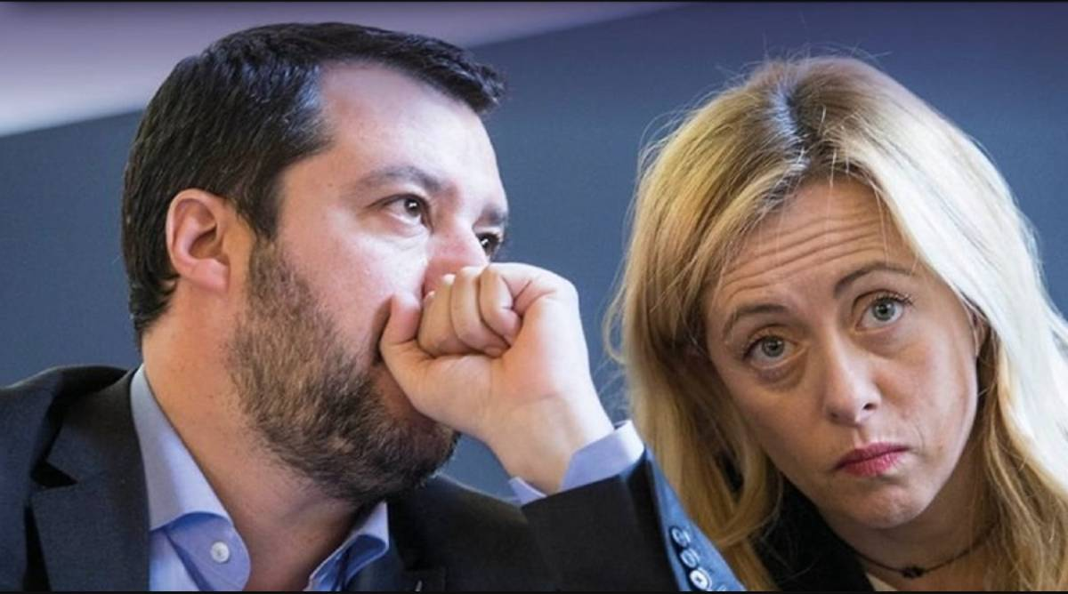 Media polls: Salvini no longer smiles but Giorgia Meloni's race slows down