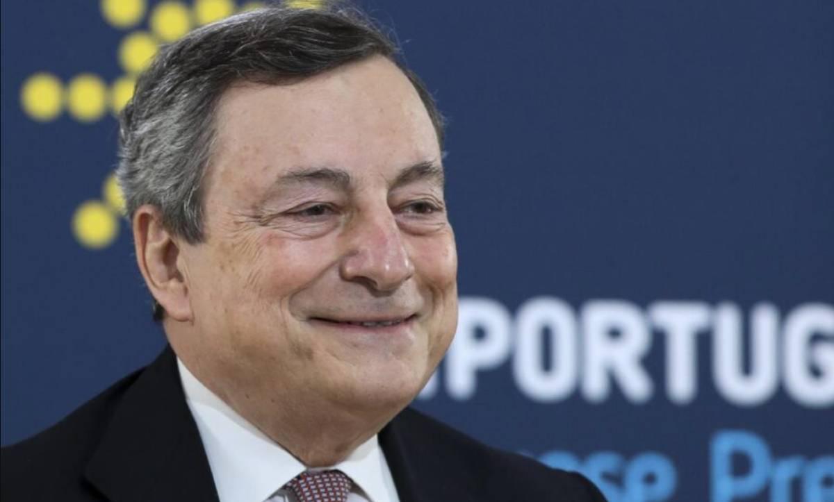 ultimi sondaggi politici gradimento leader Draghi
