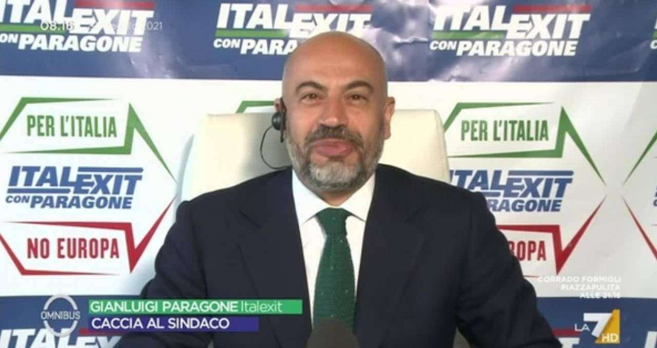 Gianluigi Paragone candidato sindaco a Milano