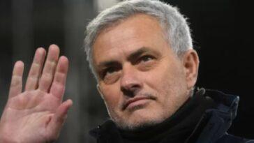 Nuovo allenatore Roma Josè Mourinho