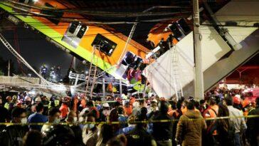 Città del Messico incidente metro