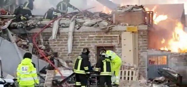 Gubbio esplosione