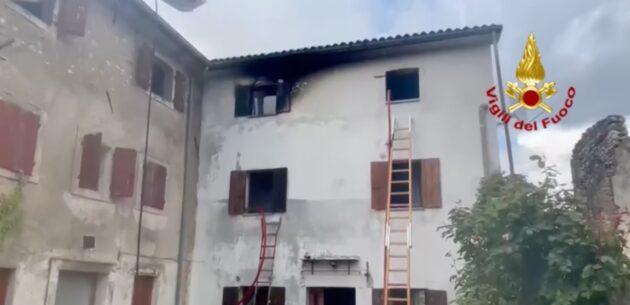 Vittorio Veneto incendio