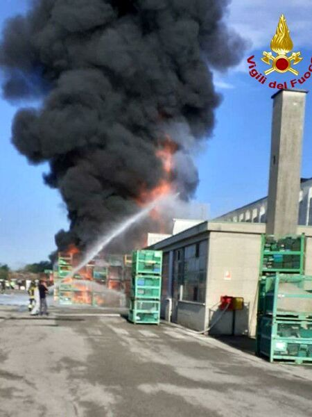 incendio Castelfranco