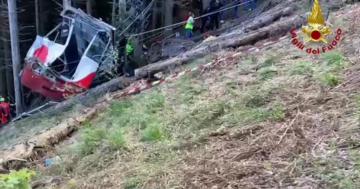 incidente funivia Mottarone
