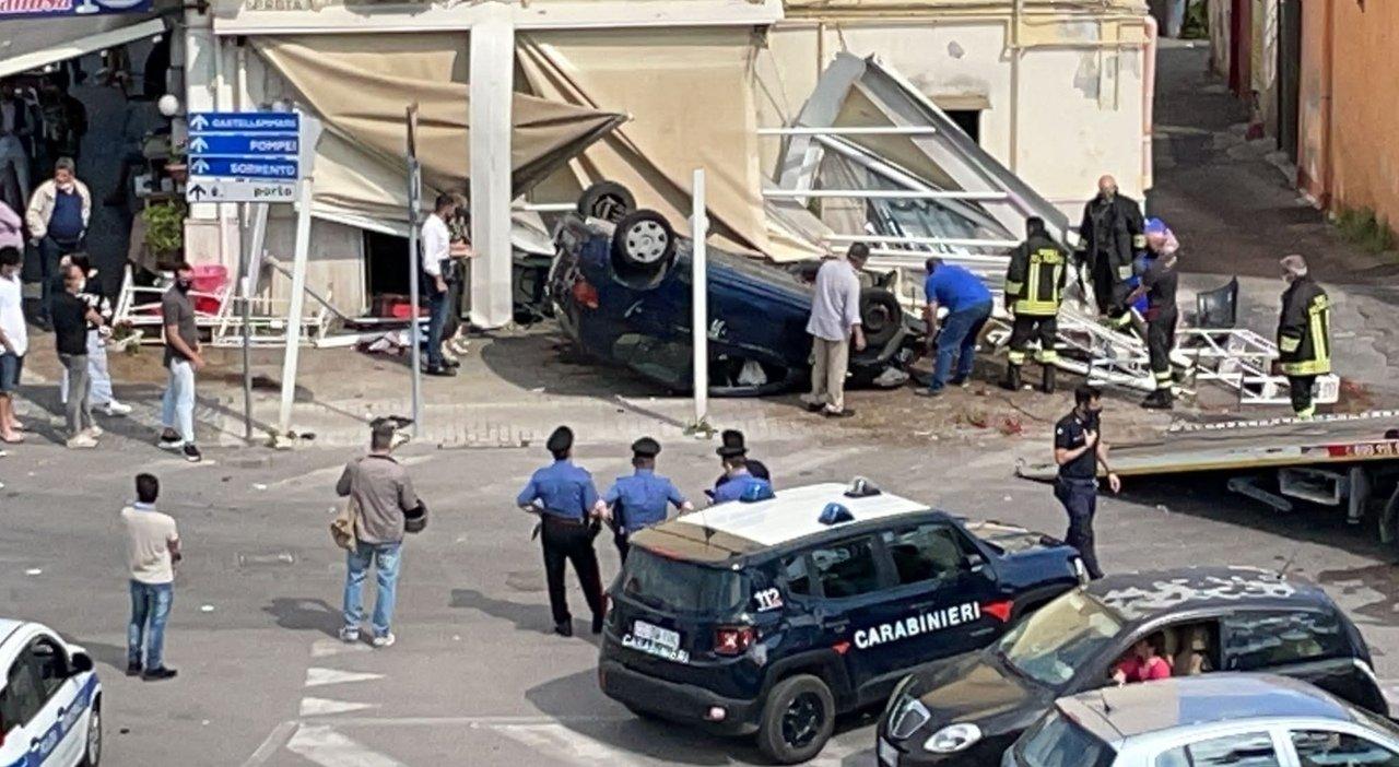 incidente Torre Annunziata