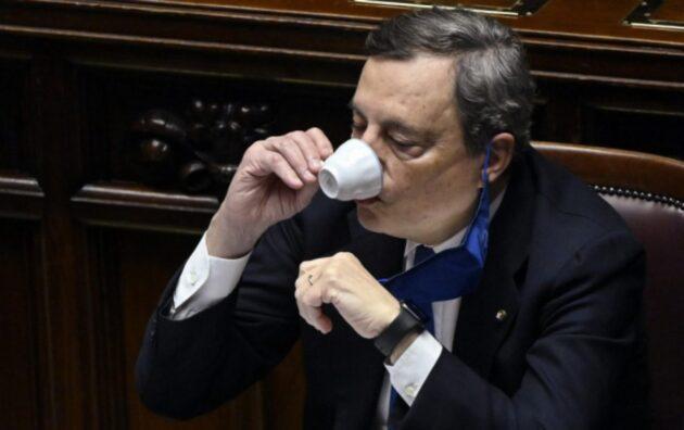 Draghi salutista