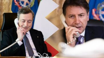 Mario Draghi e Giuseppe Conte