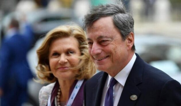 Mario Draghi moglie