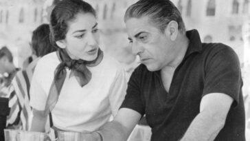 maria Callas e Onassis