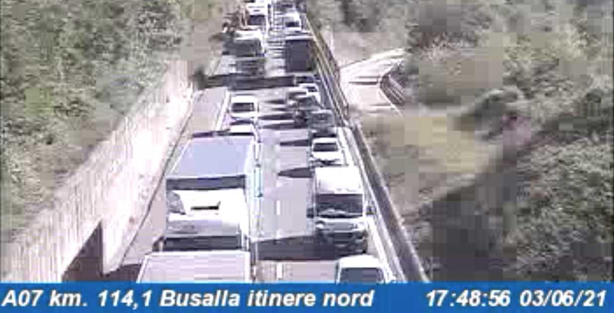 Autostrade in tempo reale oggi 3 giugno 2021