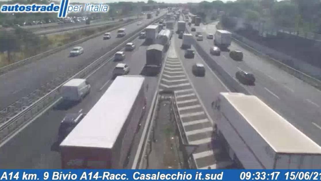 Autostrade in tempo reale oggi 15 giugno 2021